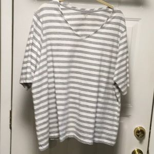 Coldwater Creek V neck Tee